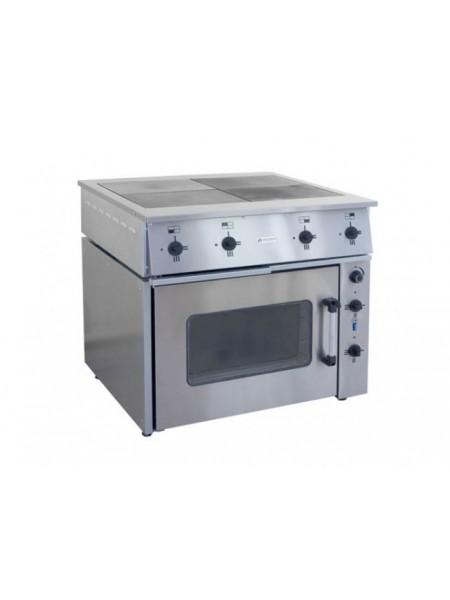 Плита ПЭ-0,48М 4-х конфорочная с жарочным шкафом