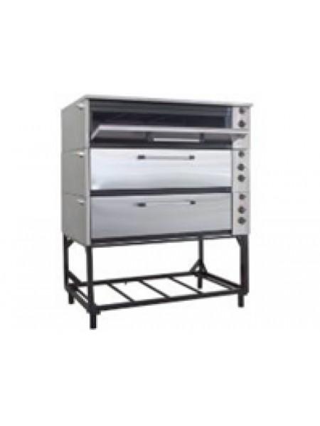 Шкаф жарочно-пекарный ЭШП-3с(у) (оцинков.)