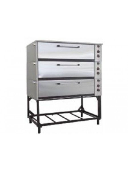 Шкаф жарочно-пекарный ЭШП-3с(у)