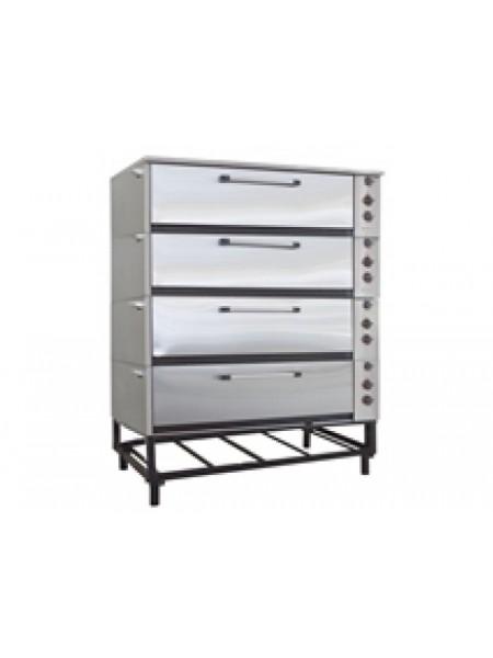 Шкаф жарочно-пекарный ЭШП-4с(у) (оцинков.)
